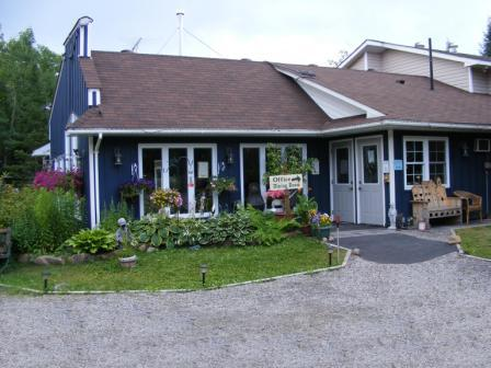 exterior dining room