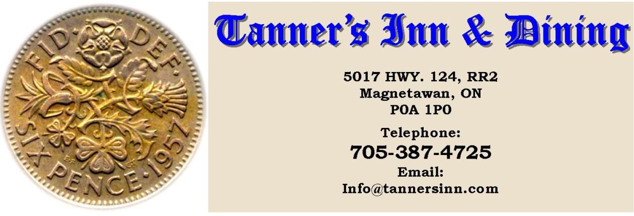 Tanner's Inn & Dining